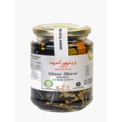Pickled Black Olives
