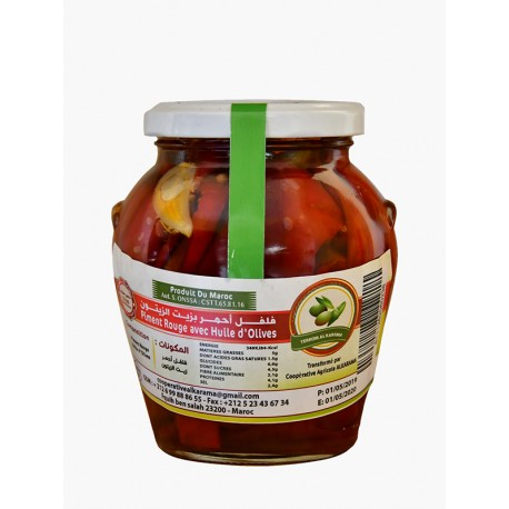 Pickled Hot Chili Peppers