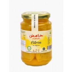 Lemon Confit with Saffron