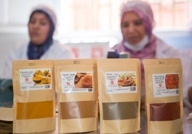 Production épices Maroc
