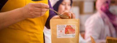 Emballage épices Maroc